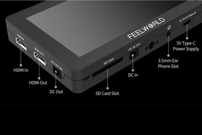 FeelWorld F6 Plus 5.5inch 4K HDMI Monitor - Image4
