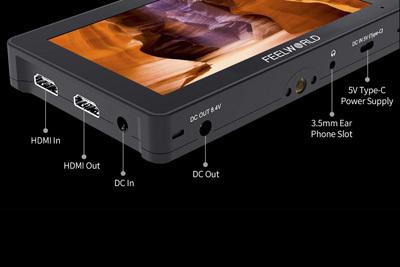 FeelWorld F5 Pro 5.5inch V2 4K HDMI IPS Touchscreen Monitor - Image7