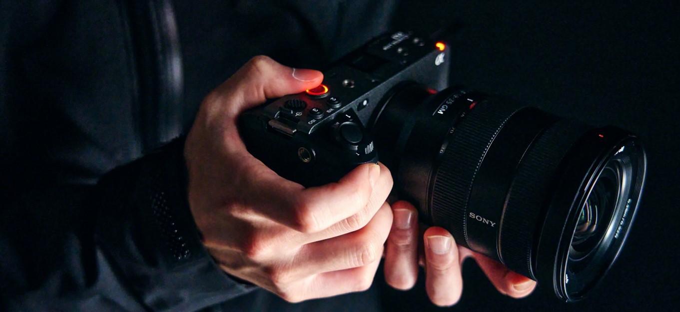 Sony FX3 Full Frame E-mount Cinema Camera - Image1