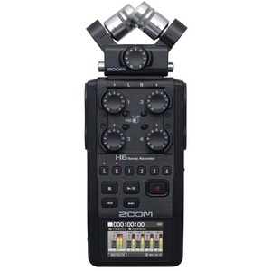Zoom H6 Handy Recorder – Interchangeable Microphone System