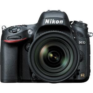 Nikon D610 Full Frame DSLR + Nikkor 24-85mm f/3.5-4.5G ED VR Lens