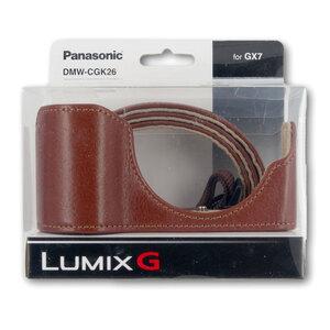 Panasonic Leather Body Case + Strap Kit for GX7