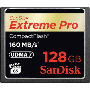 SanDisk Compact Flash Extreme Pro 128GB - 160mb/s