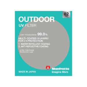 Manfrotto Outdoor UV Filter - 82mm
