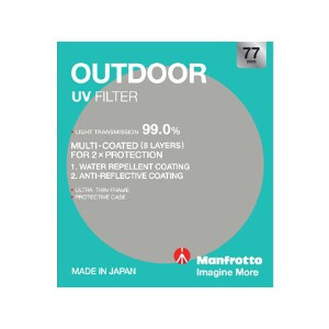 Manfrotto Outdoor UV Filter - 77mm