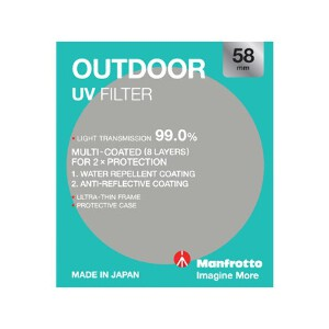 Manfrotto Outdoor UV Filter - 58mm