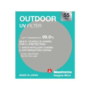 Manfrotto Outdoor UV Filter - 55mm