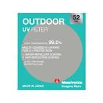Manfrotto Outdoor UV Filter - 52mm