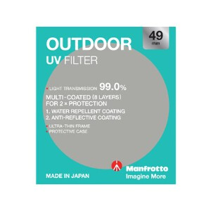 Manfrotto Outdoor UV Filter - 49mm