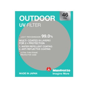 Manfrotto Outdoor UV Filter - 46mm