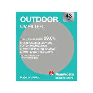 Manfrotto Outdoor UV Filter - 43mm