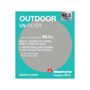Manfrotto Outdoor UV Filter - 40.5mm