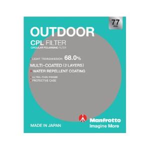 Manfrotto Outdoor Circular Polarising Filter - 77mm