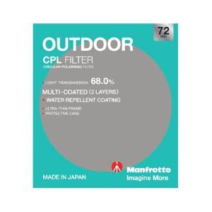 Manfrotto Outdoor Circular Polarising Filter - 72mm