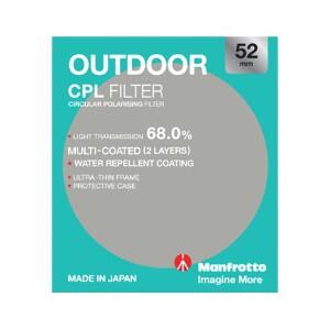 Manfrotto Outdoor Circular Polarising Filter - 52mm