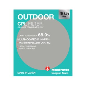 Manfrotto Outdoor Circular Polarising Filter - 40.5mm