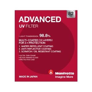 Manfrotto Advanced UV Filter - 82mm