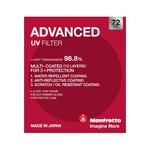 Manfrotto Advanced UV Filter - 72mm