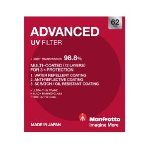 Manfrotto Advanced UV Filter - 62mm