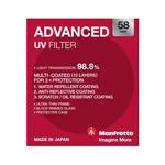 Manfrotto Advanced UV Filter - 58mm