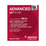 Manfrotto Advanced UV Filter - 58mm