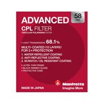 Manfrotto Advanced CP Filter - 58mm