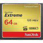 Sandisk SanDisk Extreme Compact Flash - 64GB