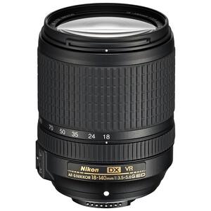 Nikon AF-S 18-140mm f/3.5-5.6G ED VR Lens