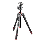 Manfrotto 190 Go Kit! 4 Section Aluminium Tripod