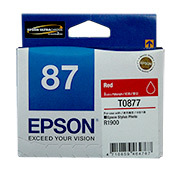 Epson R1900 Red Ink Cartridge (T0877)