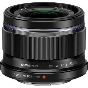 Olympus M.Zuiko 25mm f/1.8 Lens