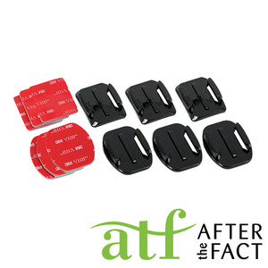 ATF Flat and Curved Adhesive Mounts
