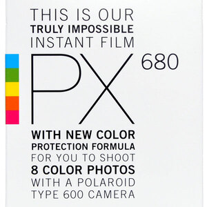 Polaroid PX680 Film - 8pk for 600 Cameras