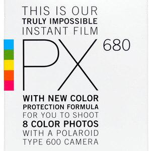 Polaroid PX680 Film - 8pk for 600 Cameras