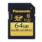 Panasonic 64GB Gold Series SDXC