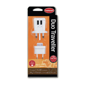 Hahnel Duo USB Traveller Charger