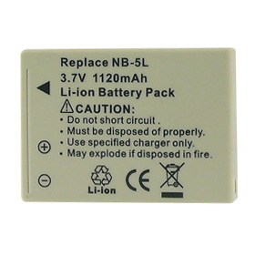 Inca Rechargeable Li-Ion Battery Canon NB-5L