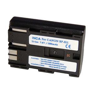 Inca Rechargeable Li-Ion Battery Canon BP-511