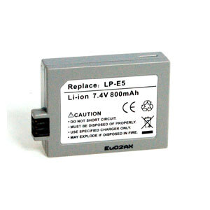 Inca Rechargeable Li-Ion Battery Canon LP-E5