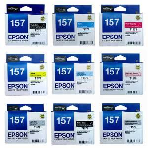 Epson 157 UltraChrome K3 Ink Set for R3000
