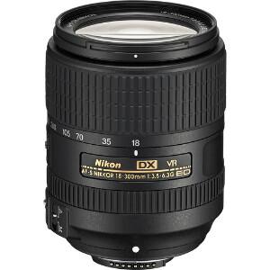 Nikkor Lens AF-S DX 18-300 F/3.5-6.3G ED VR