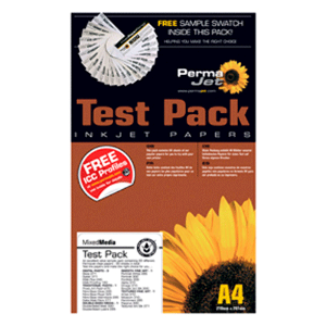 PermaJet A4 Smooth Art Test Pack - 14 Sheets