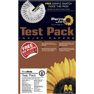 PermaJet A4 Textured Art Test Pack - 12 Sheets