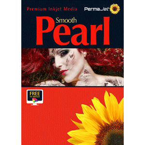PermaJet 17in Smooth Pearl 280gsm - 30m Roll