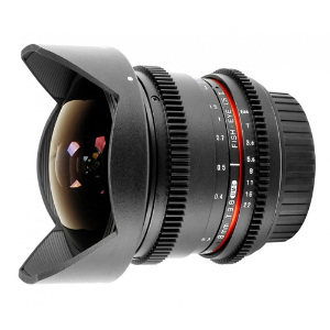 Samyang 8mm Fish-Eye T/3.8 VDSLR - Canon