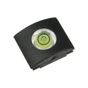 Hama 1 Axis Camera Spirit Level with Cover - 1 Bubble