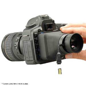 "Hoodman CH32 SLR Hoodloupe Viewer 3.2"" - Collapsible"