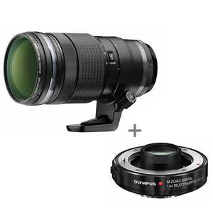 Olympus M.Zuiko ED 40-150mm PRO Lens + Teleconverter 1.4x - MC-14