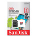 SanDisk 8GB Ultra MicroSD Class 10 - 48MB/s (320x) with SD Adapter
