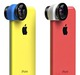 OlloClip 3-In-1 Lens for iPhone 5C - Blue Colour